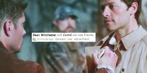 Dean and Castiel | Social Media