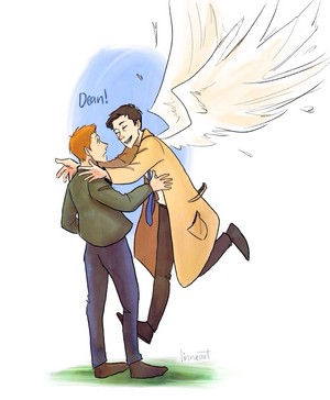 Dean and Castiel ★