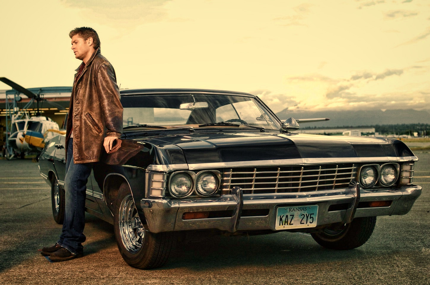 supernatural car impala wallpaper - photo #19