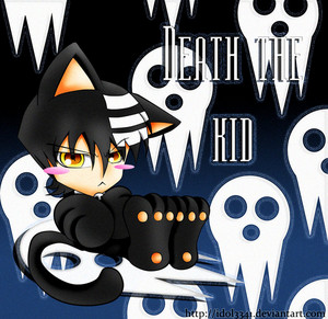 Death the kid is a kitty cat