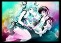 Deep Sea Girl Alan orais G Faet Hatsune Miku - hatsune-miku fan art