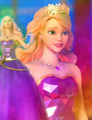 Delancy's Purple Coronation Gown - barbie-princess-charm-school fan art