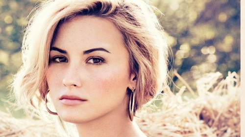 Brileyforever77 karatasi la kupamba ukuta containing a portrait titled Demi Lovato