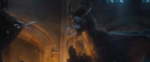 Diaval as a Dragon