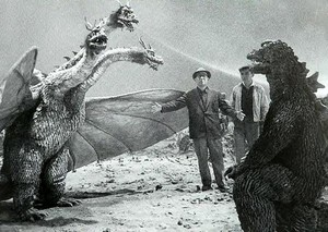 Directing Godzilla and King Ghidorah