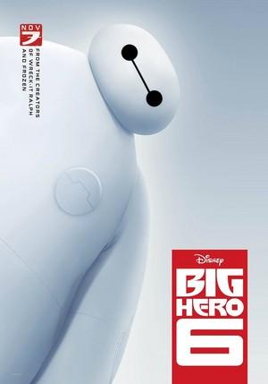 Disney Marvel's Big Hero 6 - Baymax Poster