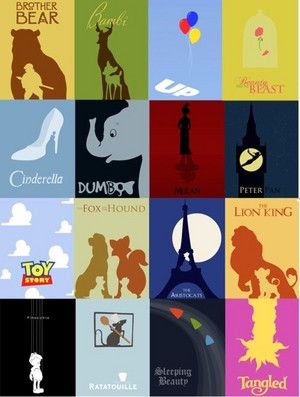 Disney Movie Posters