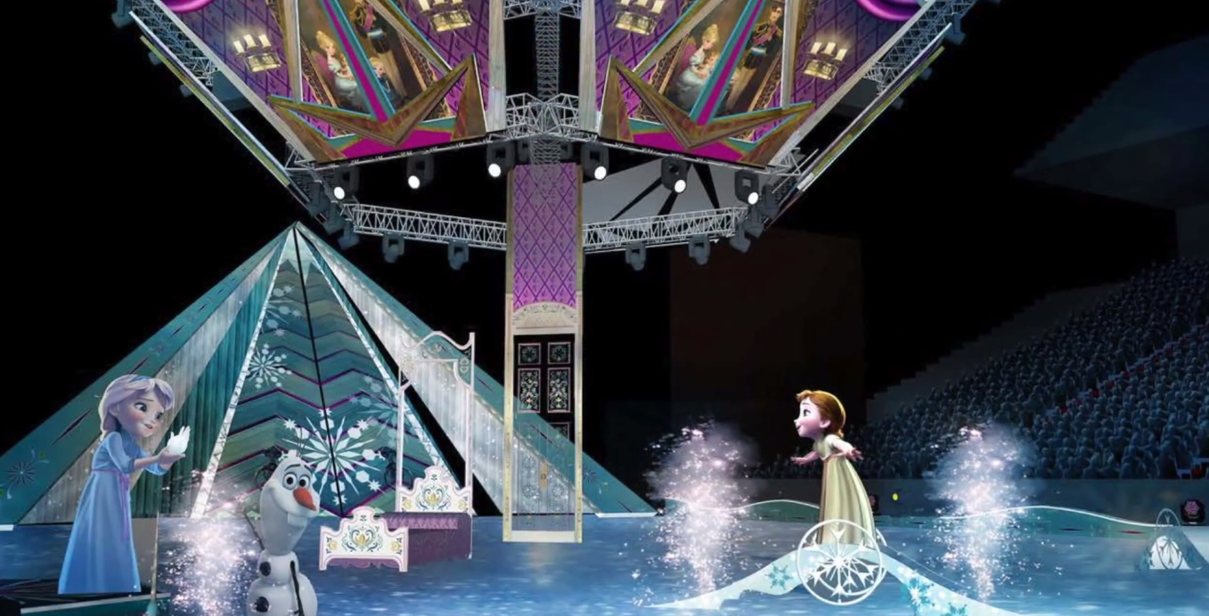Disney On Ice - Do You Want to Build a Snowman Concept Art ...