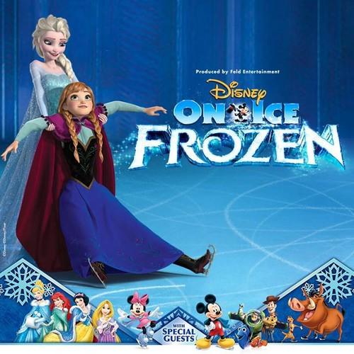 La Reine des Neiges fond d'écran entitled Disney On Ice - La Reine des Neiges