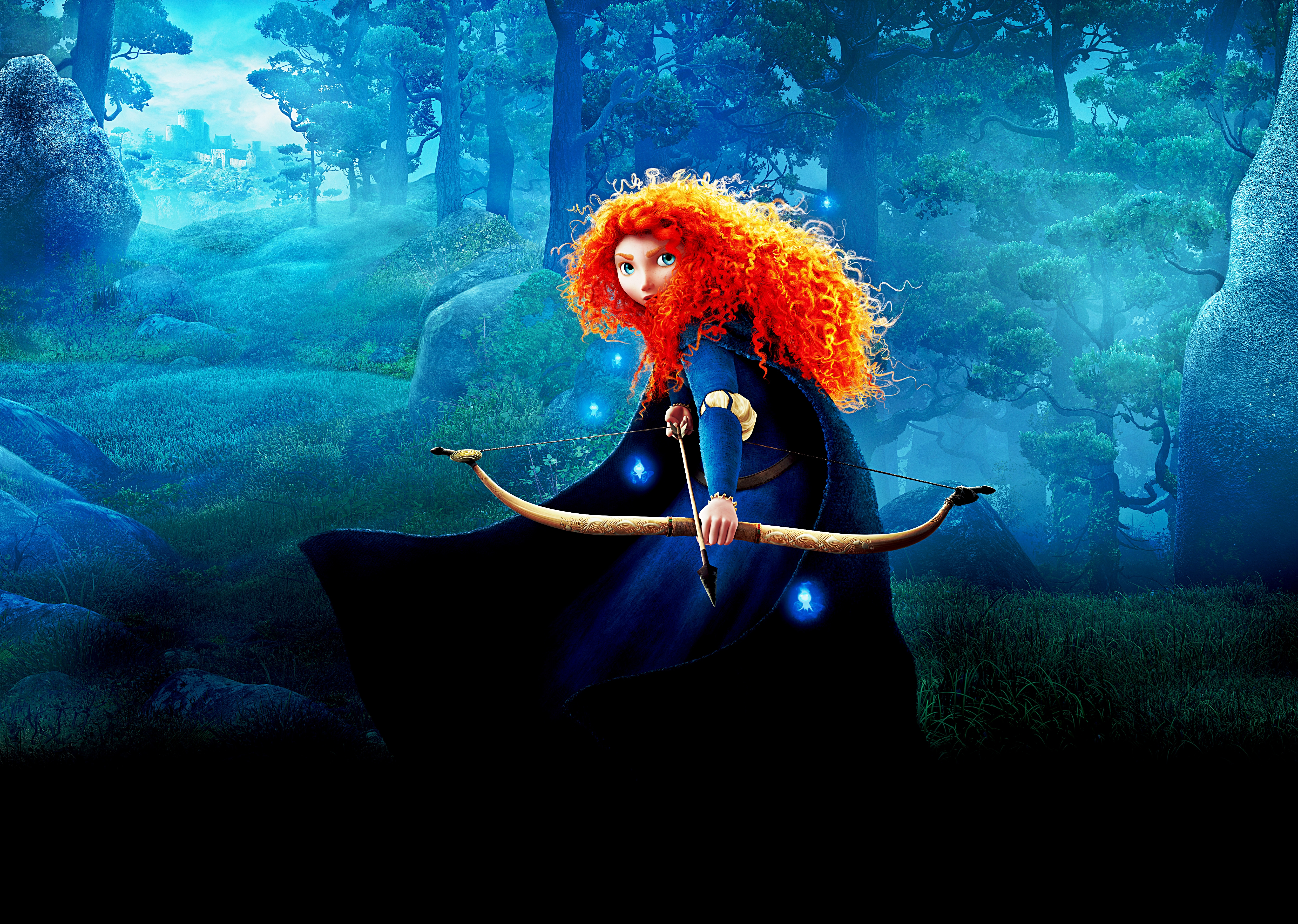 disney pixar brave Brave is pixar's 13th movie it's about a flame-haired princess named merida (voiced by kelly macdonald) who doesn't want to get married she'd rather ride her horse, drink from waterfalls and wield her bow and arrow, like a medieval katniss.
