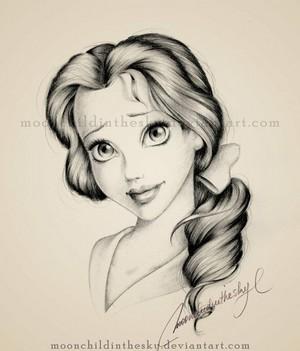 ディズニー Princess, Belle