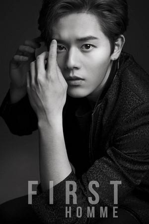Dongjun 'First Homme' teaser image