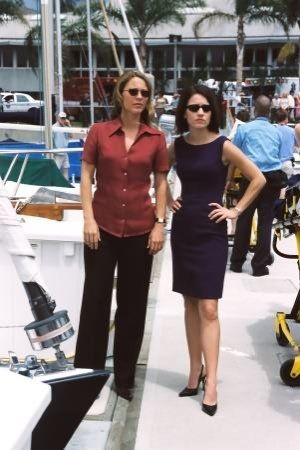 Dr. Natalie Durant and Eva Rossi