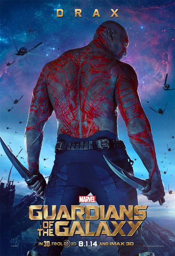 Guardians of the Galaxy 바탕화면 titled Drax The Destroyer~ New Poster