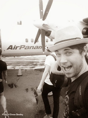 Drew Seeley in Panama ღ