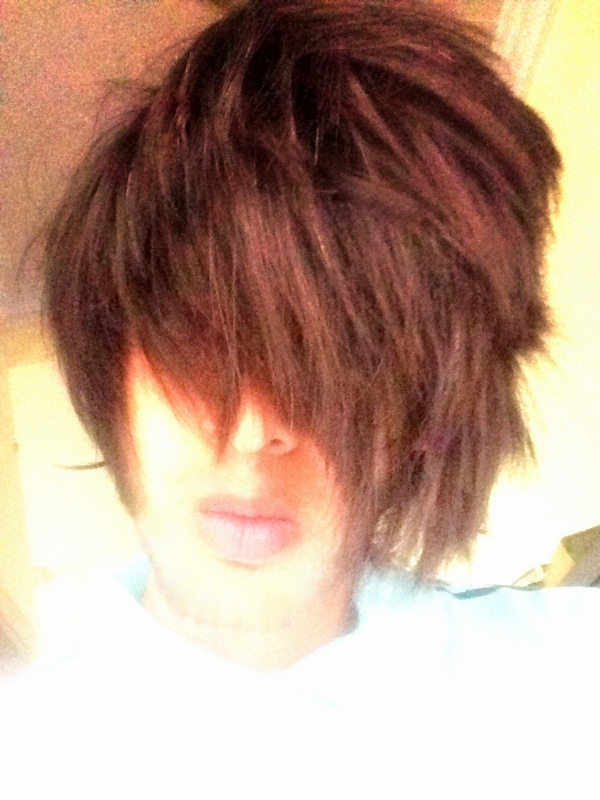 Galerry emo boy hairstyle image