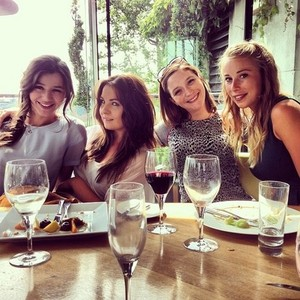 Eleanor with Friends on her 21st birthday