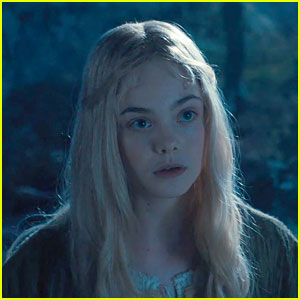 Elle Fanning as Aurora in Maleficent