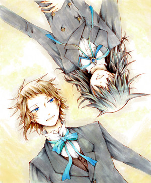 Elliot Nightray and Leo