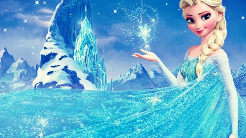 Frozen wallpaper titled Elsa - Frozen