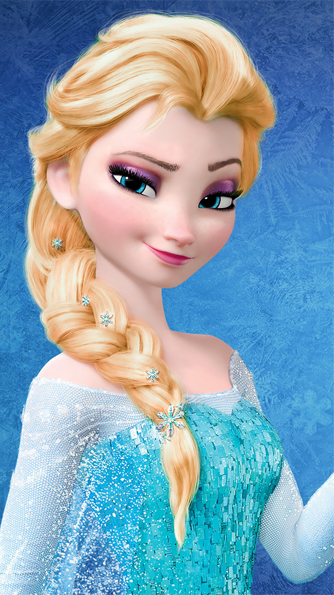 Elsa - Golden Blonde Hair Color