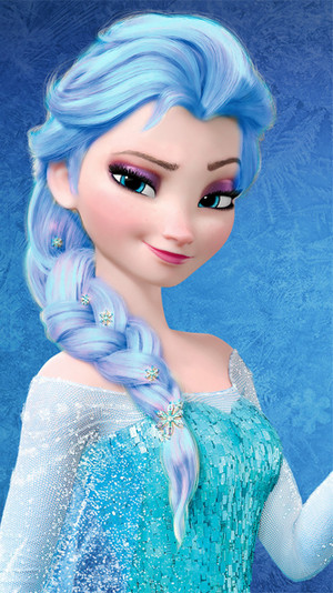 Elsa - Light Blue Hair Color