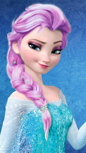 Elsa - Purple Hair Color