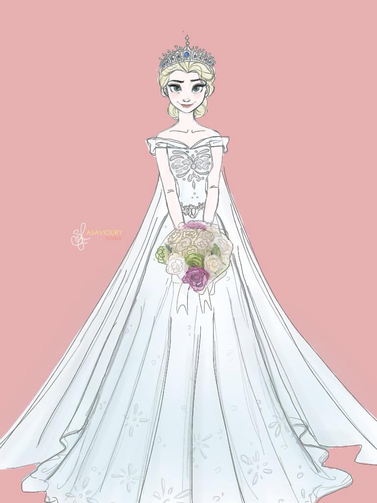 Elsa Frozen Fan Art 37115819 Fanpop How To Draw A Disney Princess Dress Free Coloring Sheets