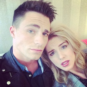 Emily and Colton in London
