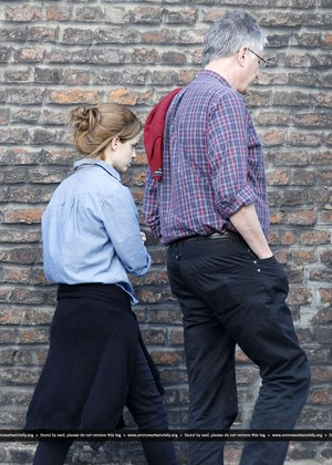 Emma Watson With step father June, 07 (Team Emma Watson Pakistan)