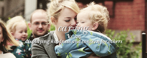 Emma is caring