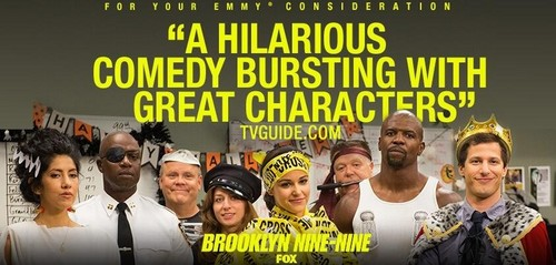 Brooklyn Nine-Nine پیپر وال containing عملی حکمت called Emmy consideration