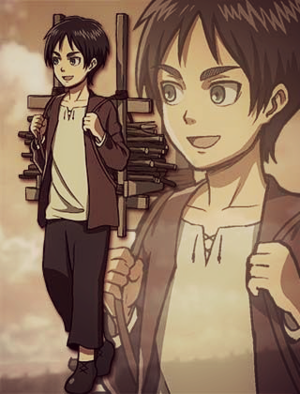 Eren Jaeger Official Art