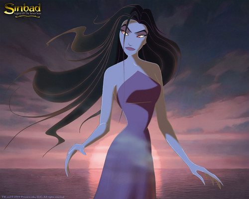 Childhood Animated Movie Villains achtergrond called Eris (Goddess of Chaos)