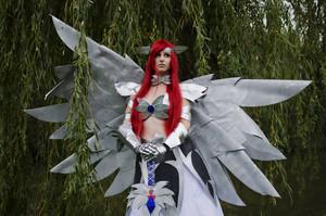 Erza Scarlet Heavens Wheel Cosplay