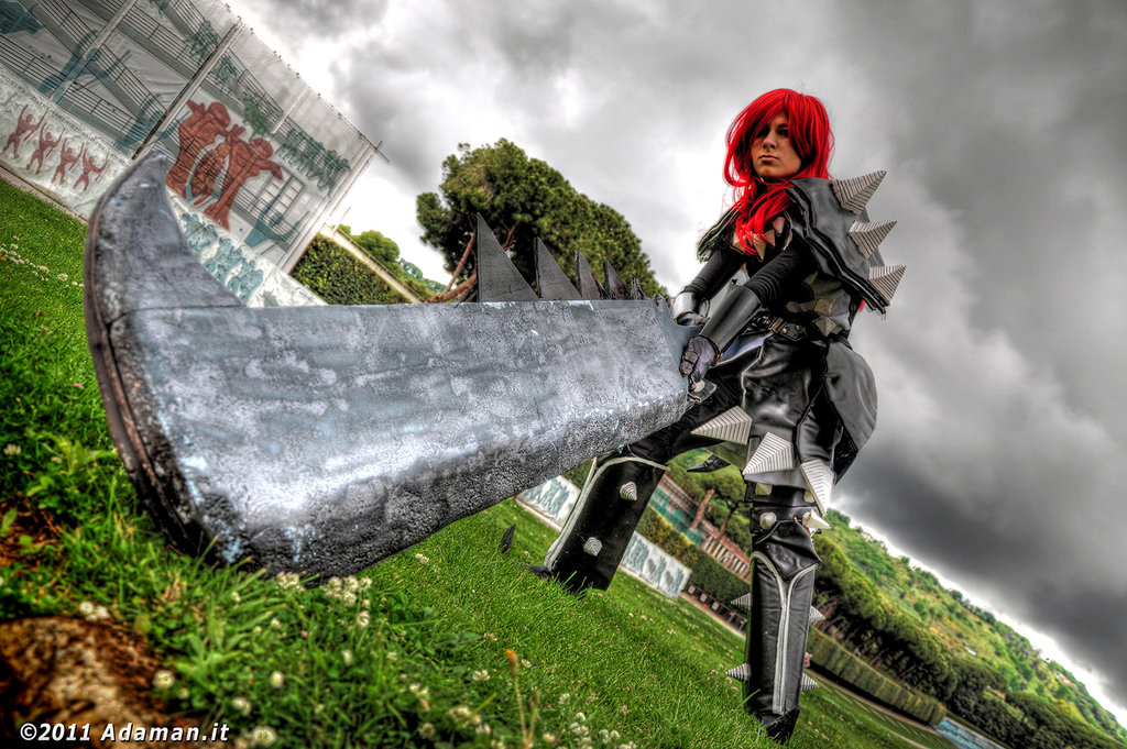 Fairy Tail Cosplay Images Erza Scarlet Purgatory Armor Cosplay Hd
