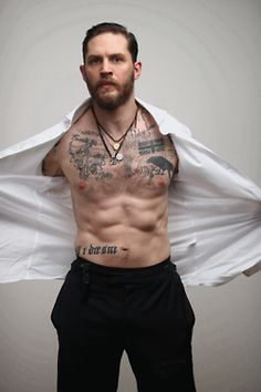 Tom Hardy wallpaper containing skin titled Esquire 'May Edition' Photoshoot