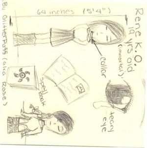 FOLLOWING -> Rene Drawing