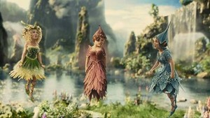 Fairies of the enchanted forest.