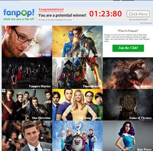 Fanpop's New Pop Culture Look