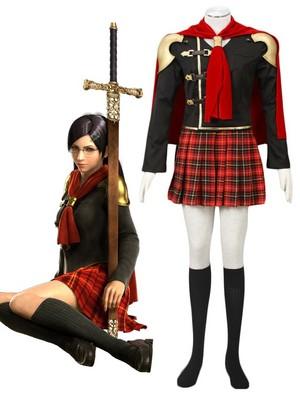 Final कल्पना type-0 क्वीन cosplay costume