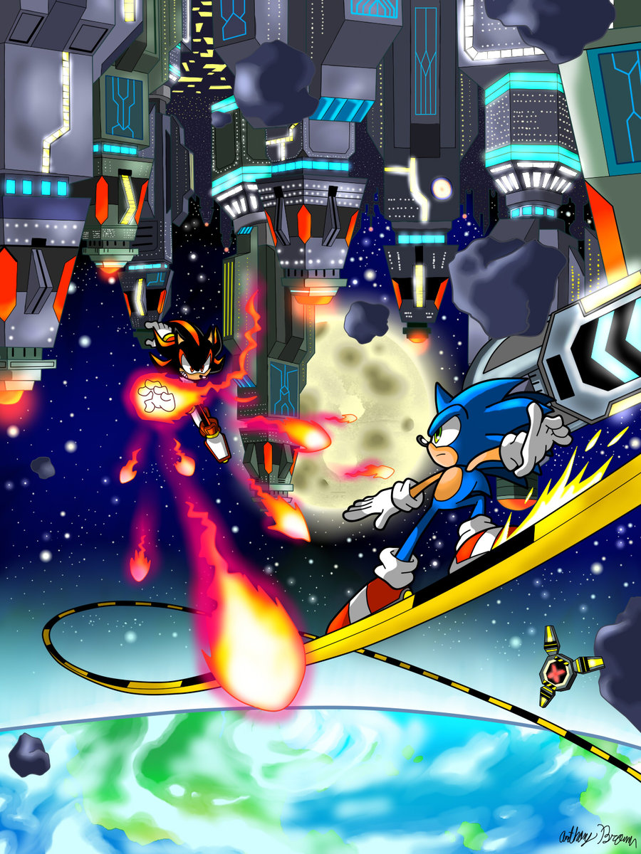 Sonic Adventure 2 Battle Images Final Rush Hd Wallpaper And