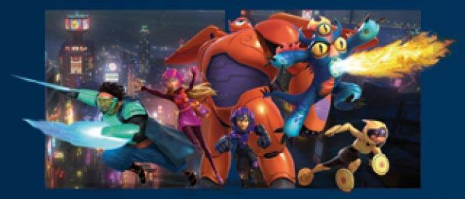 First Picture of the ヒーローズ in ディズニー Marvel's Big Hero 6