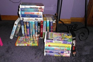 First half of my VHS collection