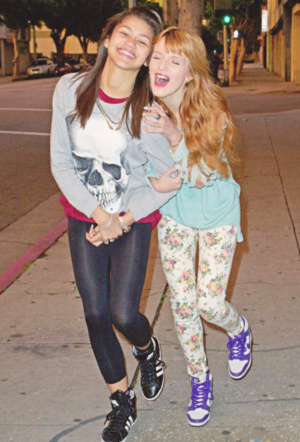 Flawless Bella and Zendaya