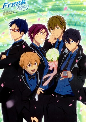 Free! official art