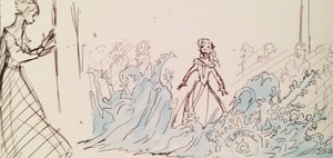 겨울왕국 - Coronation, Elsa's Magic Storyboard