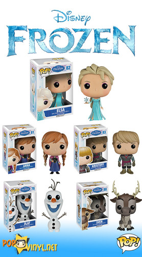 Frozen wallpaper possibly with a sewing machine entitled Frozen Funko POP Figures