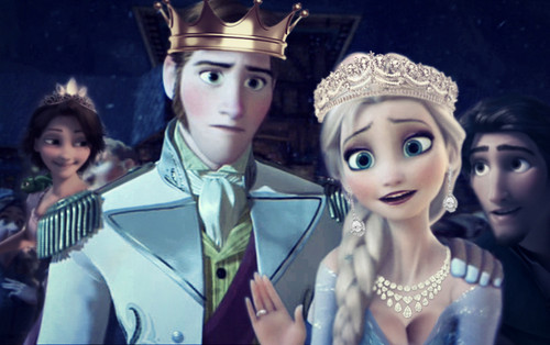 Hans wallpaper entitled Frozen and Tangled