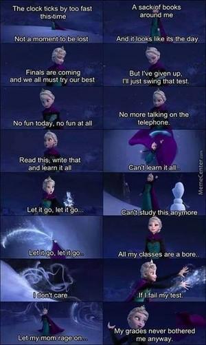 Frozen exam version